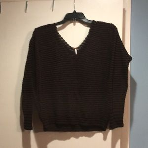 Free  people v neck sweater.